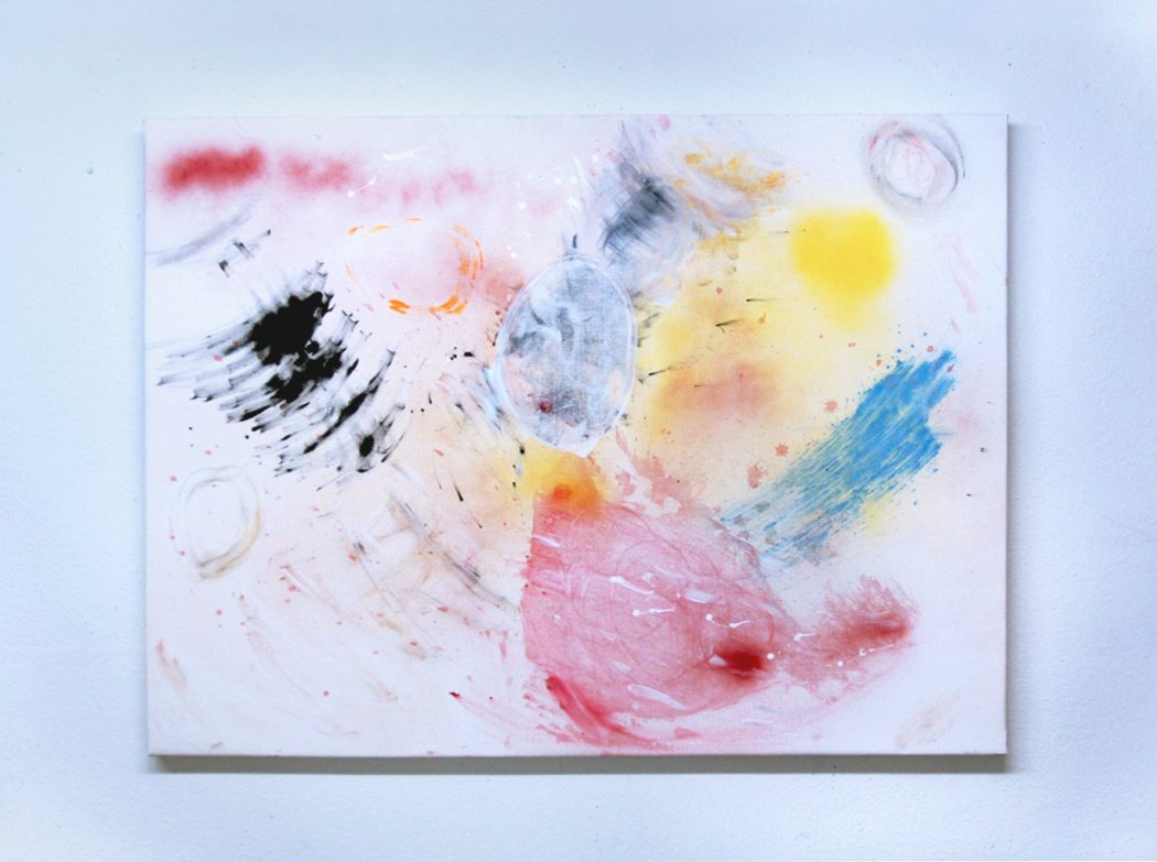 multicolored splash painting